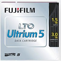 Fujifilm's NANOCUBIC technology has achieved LTO G5 data cartridge to have the capacity of 3.0 TB by recording 1,280 data tracks within 12.65 mm tape width