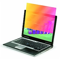 3m Gold Gpf12.1w Notebook Privacy Filter For 12.1-inch Lcd Widescreen Notebooks - Gold