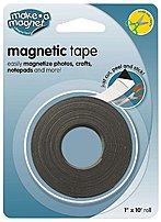 Magnum Mag-mt110 Super Strength Magnetic Tape - 10 Feet - Black, White