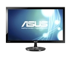 ASUS VS Series VS278Q-P 27-inch Widescreen LED-Backlit LCD Monitor - 1080p - 80000000:1 (Dynamic) - 300 cd/m2 - 1 ms (Gray-to-Gray) - DVI, VGA, HDMI - Black VS278Q-P
