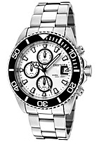 Invicta Pro Diver INVICTA-1007 Chronograph Watch - Stainless Steel - White
