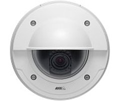 Axis Communications 0482-001 P3364-VE Fixed Network Camera - 2.4x Optical Zoom - 6 mm Lens - 1280 x 960 - 128 MB - White