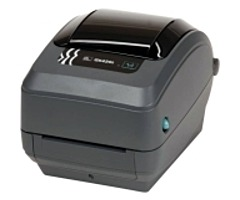 ,Zebra G Series GK42-102210-000 GK420t Direct Thermal/Thermal Transfer Label Printer - Monochrome - 203 dpi - USB, LAN - AC 120/230V,