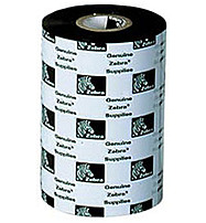 Zebra 2000 Wax 02000BK17445-R Standard Wax Thermal Transfer Ribbon - 6.85-inch Width - Black