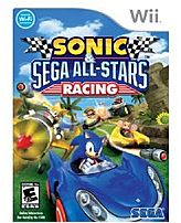 SEGA 010086650358 Sega All-Stars Racing for Nintendo Wii