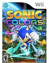 SEGA 010086650426 Sonic Colors for Nintendo Wii