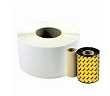 Wasp 633808431150 WWX Wax Ribbon for 305, 606 Label Printers - 3.26 inch x 820 Feet