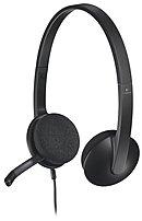 Logitech 981-000507 H340 On-Ear Headset - Binaural - Wired - USB - Black