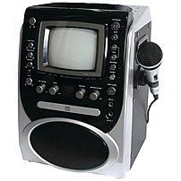 Singing Machine Stvg-519 Cdg Karaoke Player System With 5.5-inch Monitor - Silver