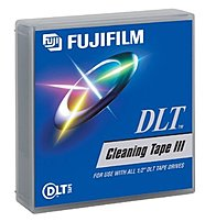 Fujifilm 600003134 DLT Cleaning Cartridge 1170.5 Feet 20 Cleaning 1 Pack