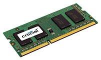 Crucial 4GB 1.6GHz PC3-12800 DDR3L SO-DIMM Unbuffered Non-ECC Laptop Memory CT51264BF160B