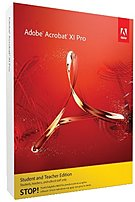 Adobe 65195001 Acrobat v.XI Pro Macintosh Academic Studen...