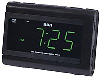 Rca Rc142 Large Display Clock Radio With Usb Charging - 1.4-inch Led Display