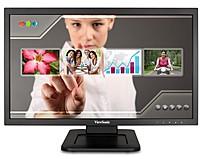 "Viewsonic Td2220 Led Monitor 22"" 21.5"" Viewable Touchscreen 1920 X 1080 Full Hd Tn 200 CD/M2 1000:1 5 Ms Dvi-D, Vga Speakers  TD2220"