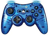 Power-a Cpfa220042 Mini Pro Elite Wireless Controller For Playstation 3 - Blue