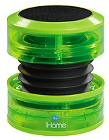 Ihome Ihm60qn Rechargeable Mini Speaker - Neon Green