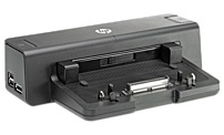 HP A7E34AA 230 Watts Docking Station for EliteBook 2170p, 8440p, 8460p, 8470p, 8470w Notebook PC - Black A7E34AA
