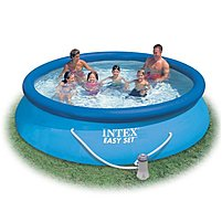 Intex 56421EG Easy Set Pool Package - Round - 12 feet x 30 inches - 1485 Gallon