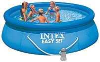 Intex 56931EG Easy Set Pool Package - Round - 12 feet x 36 inches - 1779 Gallon