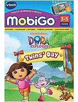 VTech 80-250800 Dora the Explorer: Its Twins Day for MobiGo
