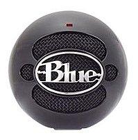 Blue Microphones Snowball SNOWBALLGLOSSBLACK Condenser Microphone -