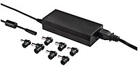 Targus 90 Watt AC Laptop Charger - RoHS Compliant - Universal Compatibility - Black