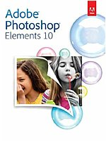 Adobe 65136454 Photoshop Elements 10 with Learn Digital Scrapbooking