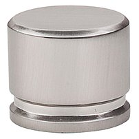Top Knobs 840355206807 Oval Knob Brushed Satin Nickel