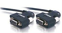 Cables To Go 52081 Null Modem Cable with 270 deg