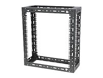 Rack Solution Innovation 119 1755 Open Frame Wall Mount Rack 9U Steel Black