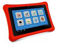 The NABI NABI2 NV7A Tablet PC with Camera features an Android 4.0 Ice Cream Sandwich operating system and a 7 inch capacitive multi touch display with a 1024 x 600 native resolution