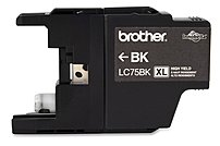 Brother Innobella LC75BK Inkjet Ink Cartridge for MFC-J28...