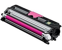 Konica Minolta A0V30CF High Capacity Laser Toner Cartridge for - Magicolor 1600 Series 1600W, 1650en, 1680mf Printers - 2500 Pages Yield - Magenta