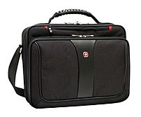 Wenger Legacy WA-7640-02F00 Single Gusset Case for 16-inch Notebook - Black