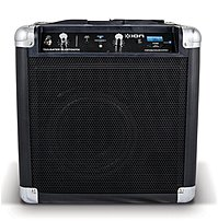 The Ion Tailgater IPA57 Bluetooth Speaker System is a portable sound system that includes speakers, amplifier, audio inputs and wireless Bluetooth technology all in one durable cabinet that has handles for easy transport.