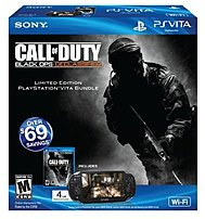 Sony 711719221524 3366921 PlayStation Vita with Call Of Duty Black Ops - 4 Gb Memory Card