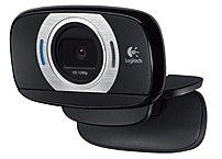 Logitech 960-000733 C615 8 Megapixels HD Webcam - Wired - 1080p - Black