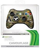 Microsoft 885370600759 43G 00049 Special Edition Wireless Controller for Xbox 360 Camo