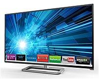 Vizio M651D-A2R 65-inch Class Razor LED Smart LCD HDTV with Theater 3D - 1080p - 10000000:1 - 240 Hz - 350 cd/m2 - 8 ms - HDMI - Silver
