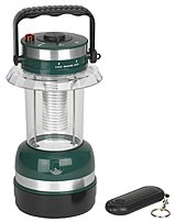 Stansport 011319060104 145 Water Resistant RC Lantern - Green, Dark Green