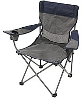 StanSport G-400 Apex Deluxe Folding Arm Chair - Steel Frame