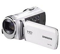 Samsung HMX-F90WN HD Digital Camcorder - 52x Optical Zoom/130x Digital Zoom - 2.7-inch LCD display - White
