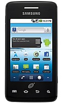 Samsung Galaxy STSAM828CPWP Precedent Prepaid Locked Cell Phone - Straight Talk - Bluetooth - 3.2-inch Touchscreen Display - 2 Megapixels Camera - Android 2.2 - 3G/Wi-Fi