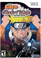 Tomy 053941704018 Naruto: Clash of Ninja Revolution for Nintendo Wii