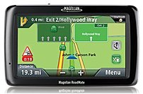 "Magellan Roadmate 5120-LMTX Automobile Portable GPS Navigator - 5"" - Touchscreen - Speaker - Microsd Card - Lane Assist, TEXT-TO-SPEECH, Basic Pedestrian Mode - USB - 2 Hour"