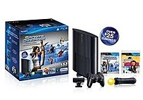 Sony 711719991564 Playstation 3 250 GB Sports Champion and EyePet Move Bundle - Charcoal Black