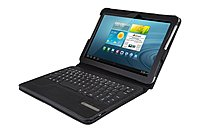 E-stand Cbi-r-galaxy-10 Protective Case With Removable Bluetooth Keyboard For 10-inch Galaxy Tab
