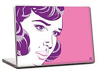Pierre Belvedere 076530 Removable Skin for 15-inch Laptops - Pop Girl 076530