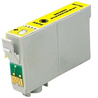 Epson T0684 Remanufactured Ink Cartridge - 485 Pages - Yellow