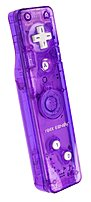 PDP Rock Candy PL8560PU Controller for Nintendo Wii - Purple
